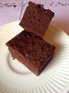 I'd attempted making protein brownies once before – they became protein chocolate muffins lol. When I discovered the secrets of making perfect protein cookies with my Shortbread Protein…