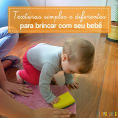 Materiais simples de cozinha são matéria prima para uma brincadeira sensorial e de descoberta ótima para os bebês