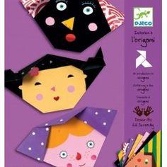 Djeco - Kit Atelier Créatif - Origami Visages: Amazon.fr: Jeux et Jouets