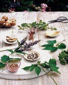 Making Medicinal Teas    Medicinal teas are easy, natural ways to help relieve numerous ailments such as PMS, hot flashes, mood swings, and fatigue. Learn how to brew your next batch.