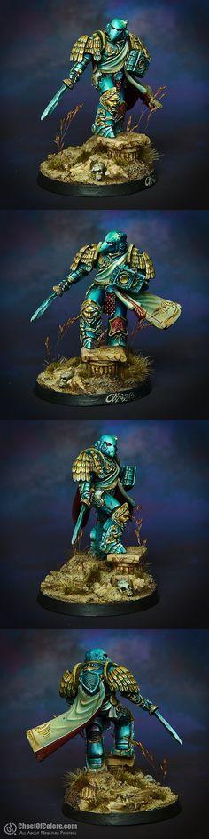 Ultramarines Commander (Millennium Knight)
