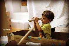 Makedo Pirate Ship by Petra from bagofpretty.blogspot.com