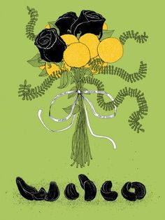 Wilco-Jackson show. Designed by the talented Justin Schultz.