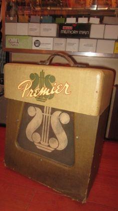 #vintage #1954 #Premier #Model 110 Combo #Amplifier Two Tone Brown > #Amps & Preamps - Rivington #Guitars | Gbase.com