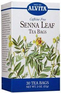 Alvita Senna Leaf Tea Organic Digestive Health
