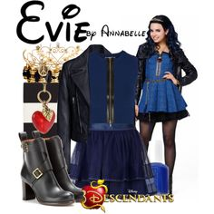 Disney Descendants Auradon Kids Evie Doll In Coronation
