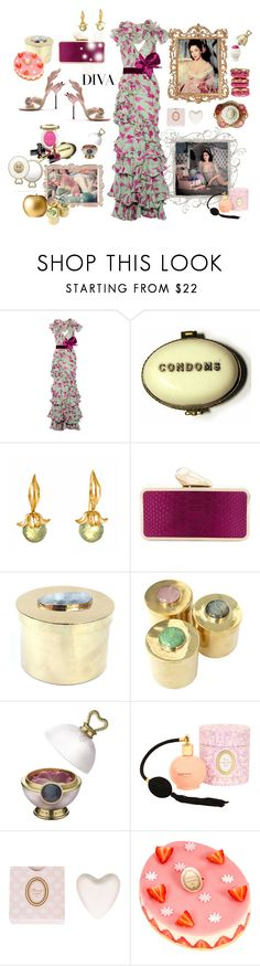 """A diva is always prepared to the max"" by juliabachmann ❤ liked on Polyvore featuring GUINEVERE, Johanna Ortiz, Chanel, Prada, Militza Ortiz, KOTUR, DIVA, Dita Von Teese, Elizabeth Taylor and Addison Weeks"
