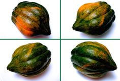 How to Peel, Seed and Cut a Pepper Squash (Acorn Squash) - HD