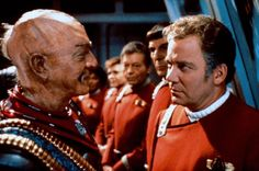Still the best duel in Star Trek history: Star Trek VI - The undiscovered country.