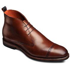 Allen Edmonds Bleecker Street Cap-toe Boots in 8498 Bob s Chili ( 345 9dc8fc9cbd