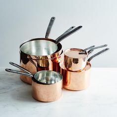 Vintage Copper English Saucepan, Mid 19th Century #2 on Food52
