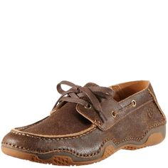 Who says new shoes can't be like old friends? The Caldwell boat shoe is just that—the favorite pair