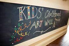 Image result for kids wall of blackboard