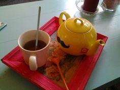 Mon ancienne théière revisi...thé!