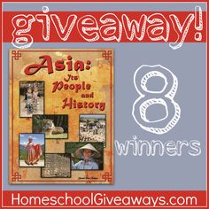 Asia it's people and history Giveaway!