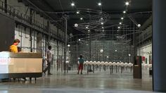 """Exposition """"Distance"""" de Jeppe Hein au LiFE Saint-Nazaire"""