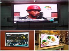 Indoor Fixed LED Panel screens are mostly used in indoor environment and they are easy to install and with superb advertising effects Led Display Board, Led Display Screen, Display Panel, Led Video Wall, Outdoor Screens, Led Panel, Cabinet Design, Indoor Outdoor, Advertising