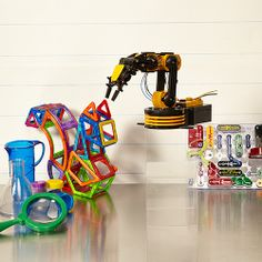 Who wouldn't want to build a robot? Seriously cool S.T.E.M. toys (science, technology, engineering & math) #zulily #zulilyfinds