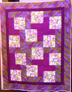 A quilt made by Lori Eastman and her quilters from Sharon's Attic.  Thank you!