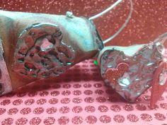 DIY Manualidades Bolsita de corazón hecha de rollitos de papel del baño