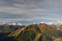 A view from Mont da Tos. Alleghe - Dolomites.
