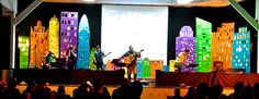 Kids in Towers | Church Stage Design Ideas