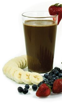 Banana Berry Bliss Smoothe with Xocai Healthy Chocolate recipe - Foodista.com
