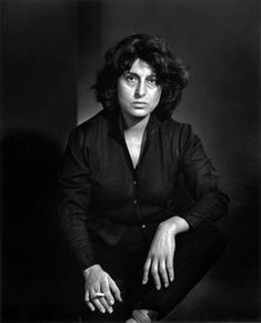 A photo of actress Anna Magnani. by Yousuf Karsh
