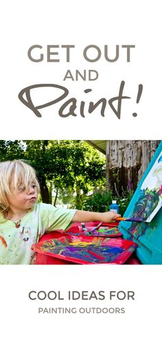 Painting fun for kid