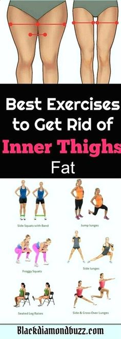 Excersices For Legs At Home and At The Gym - How do you get rid of inner thigh fat and tone up your inner thighs and legs? Here are the best exercises to get slim inner thighs in 2 weeks - Strengthening our legs is an exercise that we are going to make profitable from the beginning and, therefore, we must include it in our weekly training routine #losethighfatathome #GymTrainingTips