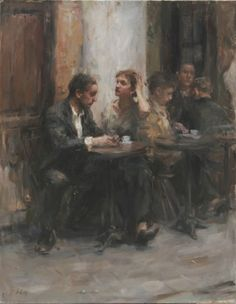 Ron Hicks - proud to say this man is one of my teachers. Love his work.
