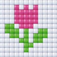 #pixelgift #pixel-hobby #pixelen #creatief #hobby #pixel #xl Tiny Cross Stitch, Easy Cross Stitch Patterns, Cross Stitch For Kids, Simple Cross Stitch, Cross Stitch Designs, Pixel Crochet Blanket, Crochet Chart, Kids Knitting Patterns, Loom Patterns
