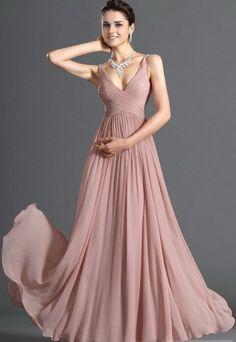 Beautiful pink evening dress