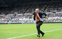 Di Canio celebration. Here he goes...