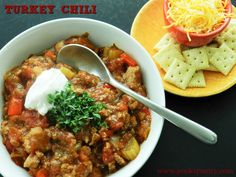 Turkey Chili for gam
