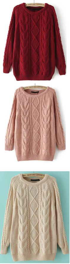Throw this super soft, sweater on over leggings or skinny jeans and you're good to go! It's a perfect closet staple to have handy when you're in need of a quick style fix. m.shein.com