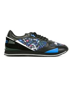 KENZO Kenzo Men'S  Multicolor Fabric Sneakers'. #kenzo #shoes #sneakers