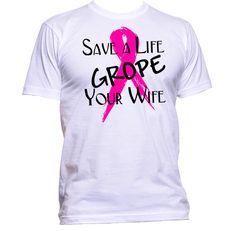 Breast Cancer Awareness T-shirt for men. - Men's cut 100% Cotton Pre-shrunk T-shirt - #TS005U