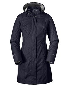 Women's Girl On The Go® Insulated Trench Coat | Eddie Bauer--love the color, the fact that the lining is detachable, the length and that it's waterproof
