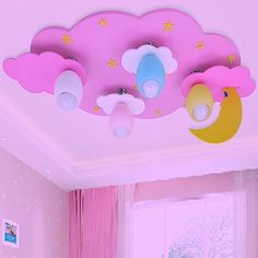 Children's room ceiling decoration Kids Bedroom Sets, Girls Bedroom, Kids Room, Interior Ceiling Design, Ceiling Decor, Childrens Room, Antique Bedroom Furniture, Cool Beds, Awesome Beds