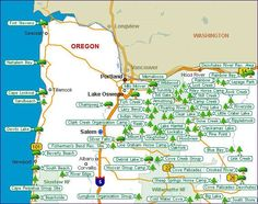 Listing of ALL state and federal campgrounds throughout Oregon.  Hope to put this to good use this summer!