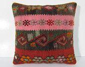 primitive decoration 18x18 sofa cushion cover retro fabric turkish fabric sham sofa cushion knitting pillow cover bohemian pillow case 29463