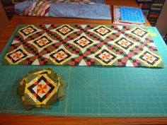 TLC Quilts and Walks: SNOW DAY! mini celtic solstice bonnie hunter mystery