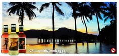 Emerald Bay, Pankor Laut Resort, Malaysia. Silhouettes