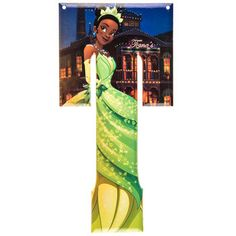 Tiana Princess and the Frog Disney Princess Metal Letter - T⎜Open Road Brands