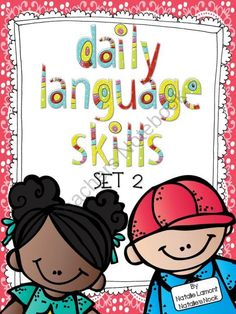 Daily Language Skills Set 2 product from Natalies-Nook on TeachersNotebook.com
