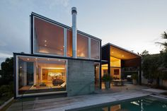 Birkenhead Point House in Auckland, New Zealand by Crosson Clarke Carnachan Architects
