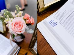 Bible guest book  Carley Rehberg Photography