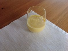 Mango-banana-orange cream
