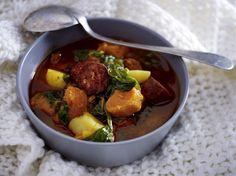 Unser beliebtes Rezept für Portugiesische Kartoffelsuppe mit Chorizo und mehr als 55.000 weitere kostenlose Rezepte auf LECKER.de.
